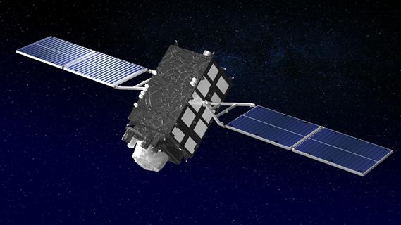 「みちびき 2 号機」 軌道上外観図