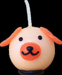 犬のキャンドル