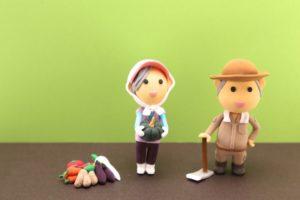 農家のマスコット