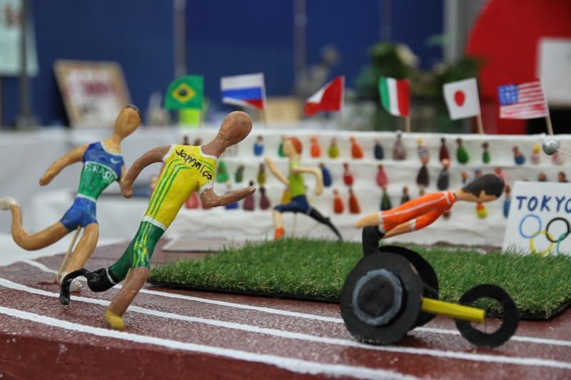 東京オリンピックマラソンの模型